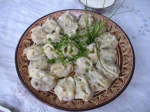 Таджикская кухня, салат с кислым молоком к плову фото